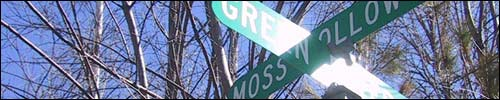 [street signs in southern vermont]