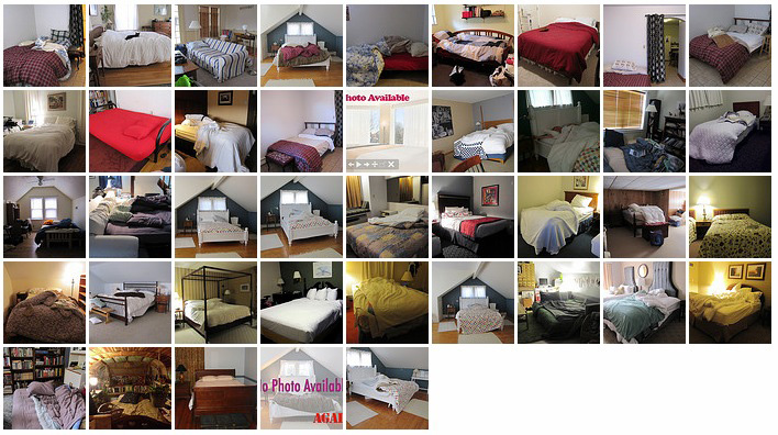photos of the beds I've slept in, in 2011